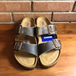 Birkenstock Arizona Tabacco brown 41 10 narrow